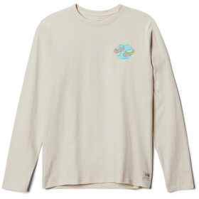 Mountain Hardwear Keep Earth Awesome Longsleeve Heren, stone